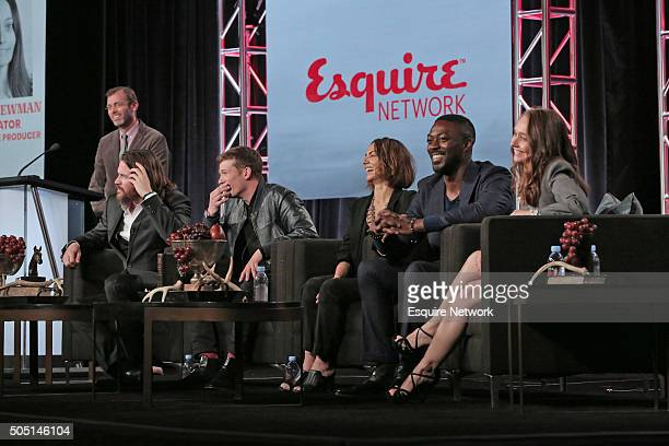 "NBCUniversal Press Tour, January 2016 -- Esquire Network's ""Beowulf"" Session -- Pictured: Matt Hanna, Executive Vice President, Original Programming,..."