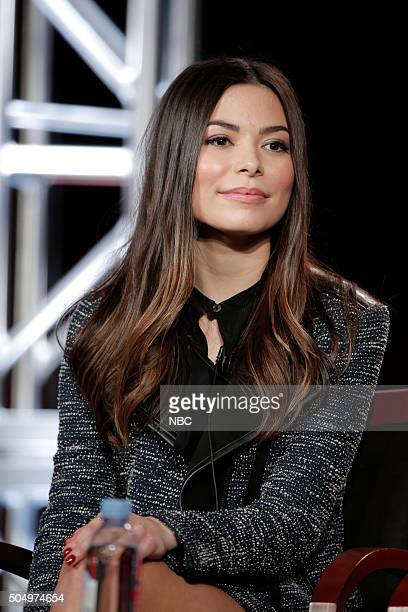 EVENTS NBCUniversal Press Tour January 2016 NBC's Crowded Session Pictured Miranda Cosgrove