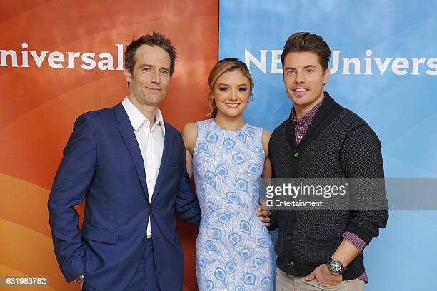 EVENTS NBCUniversal Press Tour January 2017 E Entertainment's 'The Arrangement' Pictured Michael Vartan Christine Evangelista Josh Henderson