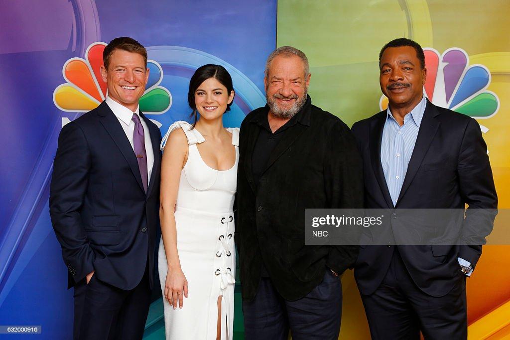 "NBC's ""Press Tour January 2017"" - Talent and Executive Portraits"