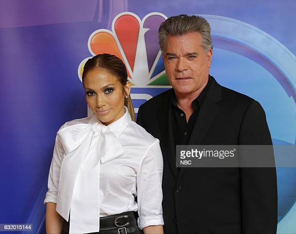 EVENTS NBCUniversal Press Tour January 2017 NBC's 'Shades of Blue' Pictured Jennifer Lopez Talent/Executive Producer Ray Liotta