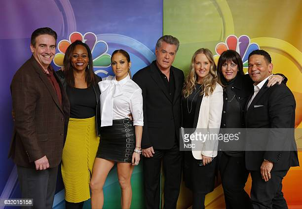 EVENTS NBCUniversal Press Tour January 2017 NBC's 'Shades of Blue' Pictured Jack Orman Executive Producer Pearlena Igbokwe President Universal...