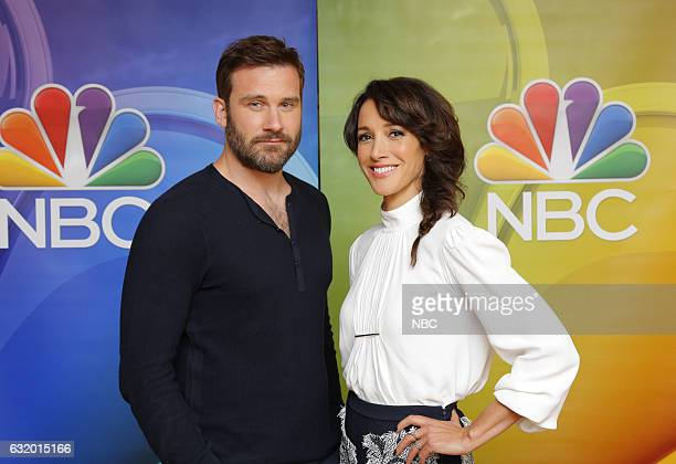 EVENTS NBCUniversal Press Tour January 2017 NBC's Taken Pictured Clive Standen Jennifer Beals