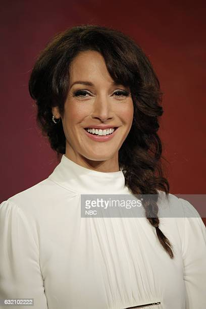 EVENTS NBCUniversal Press Tour January 2017 NBC's Taken Session Pictured Jennifer Beals