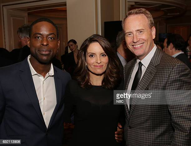 EVENTS NBCUniversal Press Tour January 2017 NBCUniversal Party Pictured Sterling K Brown This is Us Tina Fey Executive Producer Great News Robert...