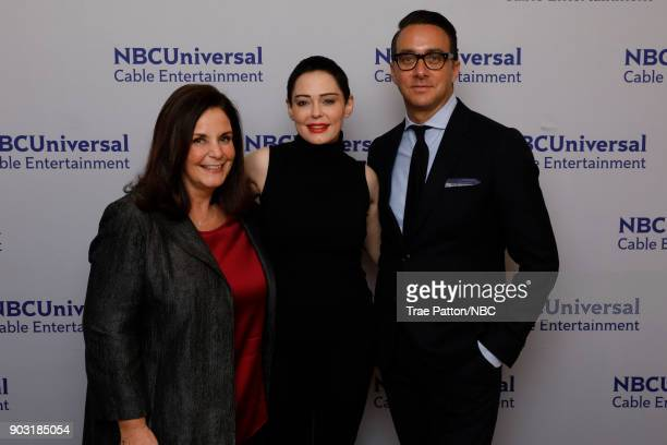 EVENTS NBCUniversal Press Tour January 2018 'Citizen Rose' Pictured Amy IntracasoDavis President Executive Vice President Development Production E...