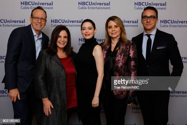 EVENTS NBCUniversal Press Tour January 2018 'Citizen Rose' Pictured Jonathan Murray Executive Producer and CoFounder Bunim/Murray Productions Amy...