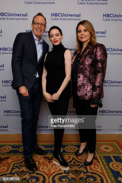 EVENTS NBCUniversal Press Tour January 2018 'Citizen Rose' Pictured Jonathan Murray Executive Producer and CoFounder Bunim/Murray Productions Rose...