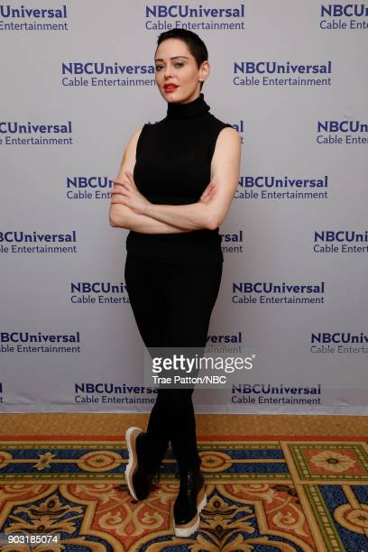 EVENTS NBCUniversal Press Tour January 2018 'Citizen Rose' Pictured Rose McGowan