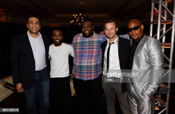 EVENTS NBCUniversal Press Tour January 2018 'CNBC's 'Jay Leno's Garage' Cocktail Reception' Pictured 'The Blacklist' Harold Cooper 'Unsolved The...