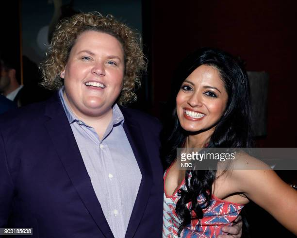 EVENTS NBCUniversal Press Tour January 2018 'CNBC's 'Jay Leno's Garage' Cocktail Reception' Pictured Fortune Feimster Mouzam Makker 'Champions'