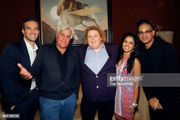 EVENTS NBCUniversal Press Tour January 2018 'CNBC's 'Jay Leno's Garage' Cocktail Reception' Pictured