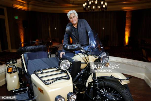 EVENTS NBCUniversal Press Tour January 2018 'CNBC's 'Jay Leno's Garage' Cocktail Reception' Pictured Jay Leno