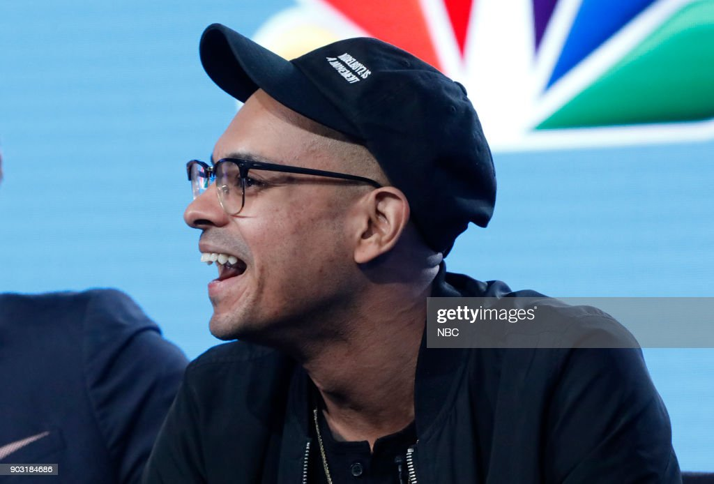 EVENTS -- NBCUniversal Press Tour, January 2018 -- NBC's 'Champions' Session -- Pictured: Yassir Lester --