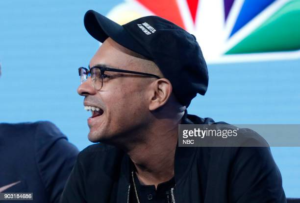 EVENTS NBCUniversal Press Tour January 2018 NBC's 'Champions' Session Pictured Yassir Lester