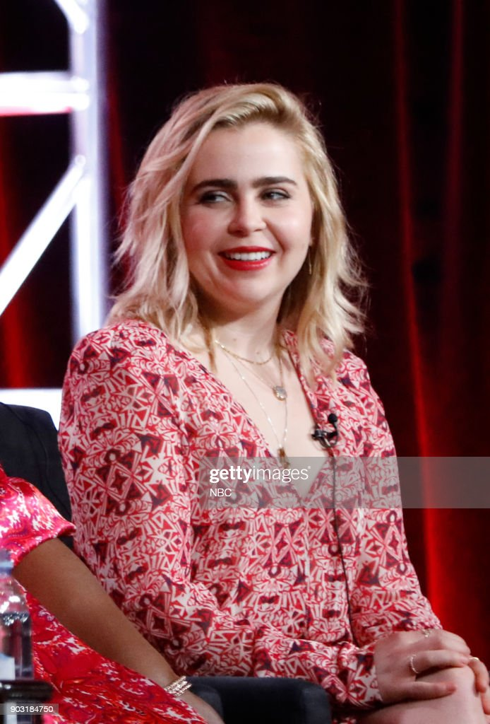 EVENTS -- NBCUniversal Press Tour, January 2018 -- NBC's 'Good Girls' Session -- Pictured: Mae Whitman --