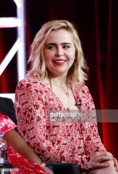 EVENTS NBCUniversal Press Tour January 2018 NBC's Good Girls Session Pictured Mae Whitman