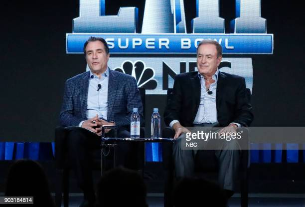 EVENTS NBCUniversal Press Tour January 2018 'Super Bowl LII' Session Pictured Fred Gaudelli Executive Producer Sunday Night Football Thursday Night...