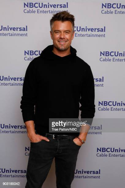 EVENTS NBCUniversal Press Tour January 2018 'Unsolved The Murders of Tupac and The Notorious BIG' Pictured Josh Duhamel