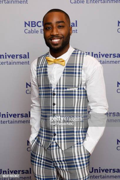 EVENTS NBCUniversal Press Tour January 2018 'Unsolved The Murders of Tupac and The Notorious BIG' Pictured Marcc Rose