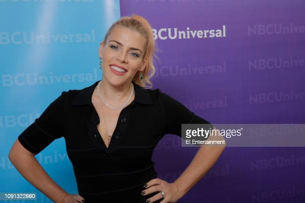 EVENTS NBCUniversal Press Tour January 2019 E Entertainment's Busy Tonight Pictured Busy Philipps Host and Executive Producer