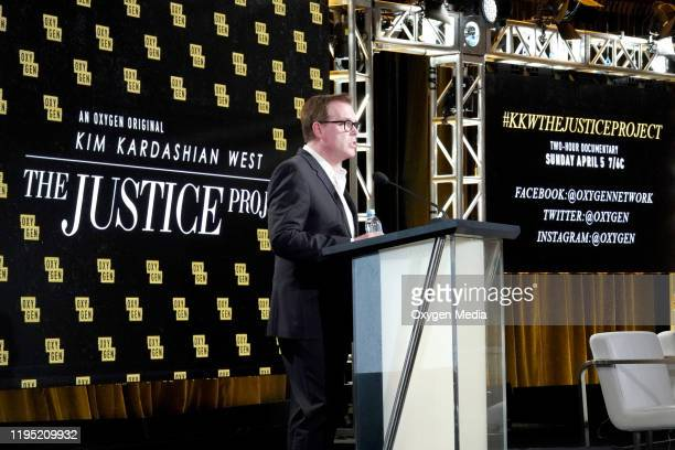 """NBCUniversal Press Tour, January 2020 -- Oxygen's """"Kim Kardashian West: The Justice Project""""-- Pictured: Rod Aissa --"""