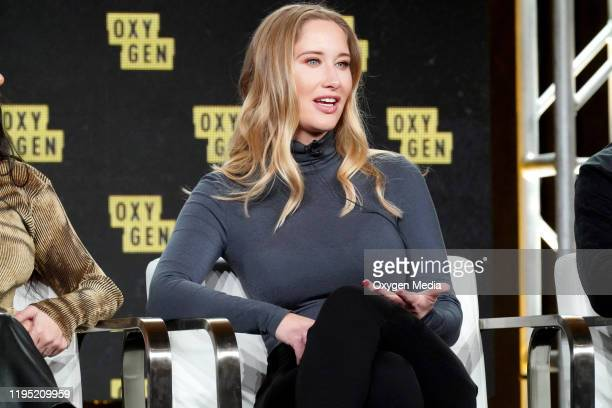 """NBCUniversal Press Tour, January 2020 -- Oxygen's """"Kim Kardashian West: The Justice Project""""-- Pictured: Jessica Jackson --"""