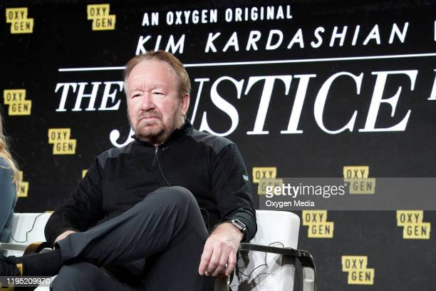 """NBCUniversal Press Tour, January 2020 -- Oxygen's """"Kim Kardashian West: The Justice Project""""-- Pictured: Vince DiPersio --"""