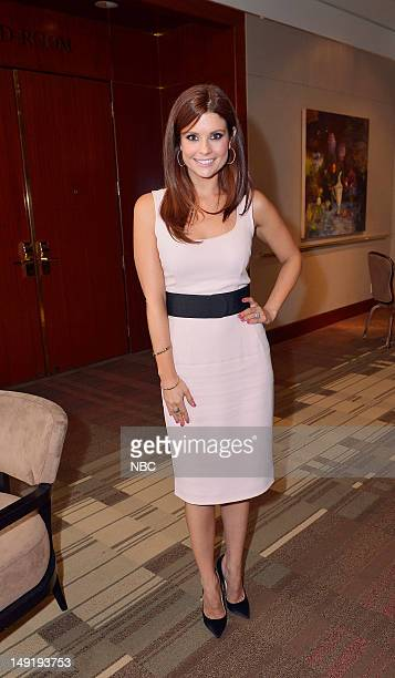 EVENTS NBCUniversal Press Tour July 2012 Behind the Scenes Pictured JoAnna Garcia Swisher