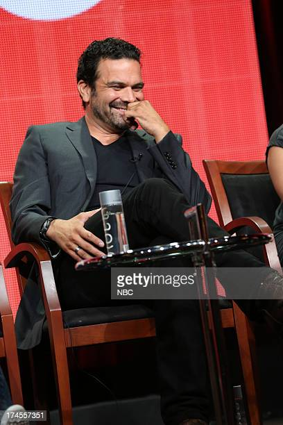 EVENTS NBCUniversal Press Tour July 2013 Welcome to the Family Session Pictured Ricardo A Chavira
