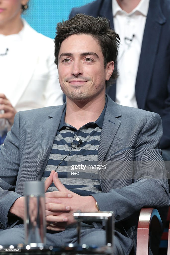 EVENTS -- NBCUniversal Press Tour, July 2014 -- 'A to Z' Session -- Pictured: Ben Feldman --