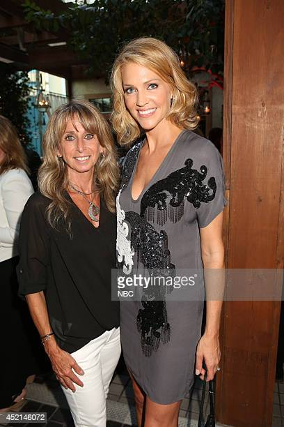 EVENTS NBCUniversal Press Tour July 2014 AllStar Party Pictured Bonnie Hammer Chairman NBCUniversal Cable Entertainment Group Tricia Helfer Ascension...
