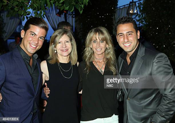 EVENTS NBCUniversal Press Tour July 2014 AllStar Party Pictured Luis D Ortiz Million Dollar Listing Bravo Frances Berwick President Bravo and Oxygen...