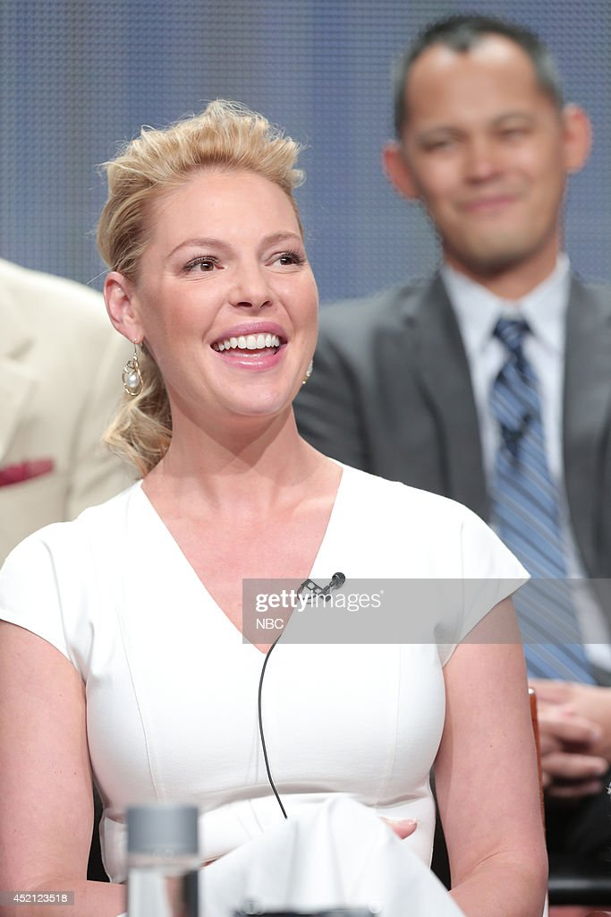 EVENTS -- NBCUniversal Press Tour, July 2014 -- 'State of Affairs' Session -- Pictured: Katherine Heigl --