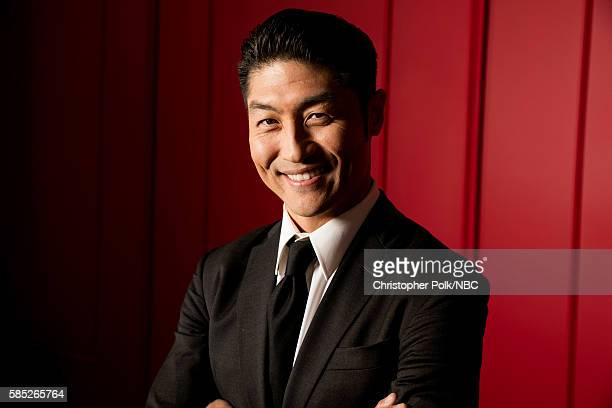 EVENTS NBCUniversal Press Tour Portraits AUGUST 02 2016 Actor Brian Tee of Chicago Med poses for a portrait in the the NBCUniversal Press Tour...