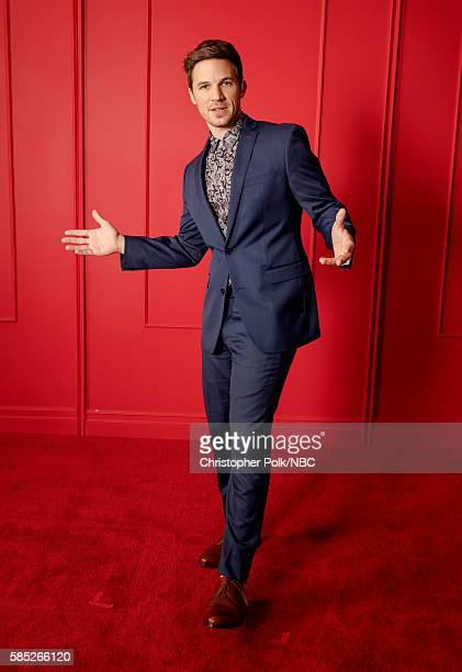 EVENTS NBCUniversal Press Tour Portraits AUGUST 02 2016 Actor Matt Lanter or 'Timeless' poses for a portrait in the the NBCUniversal Press Tour...