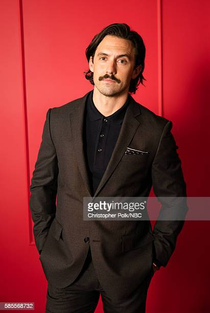 EVENTS NBCUniversal Press Tour Portraits AUGUST 02 2016 Actor Milo Ventimiglia of 'This Is Us' poses for a portrait in the the NBCUniversal Press...