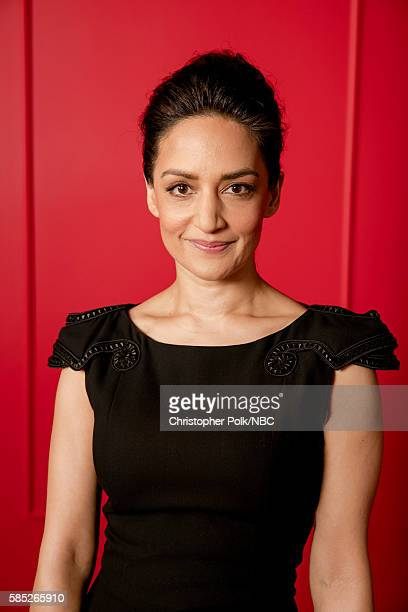 EVENTS NBCUniversal Press Tour Portraits AUGUST 02 2016 Actress Archie Panjabi of 'Blindspot' poses for a portrait in the the NBCUniversal Press Tour...