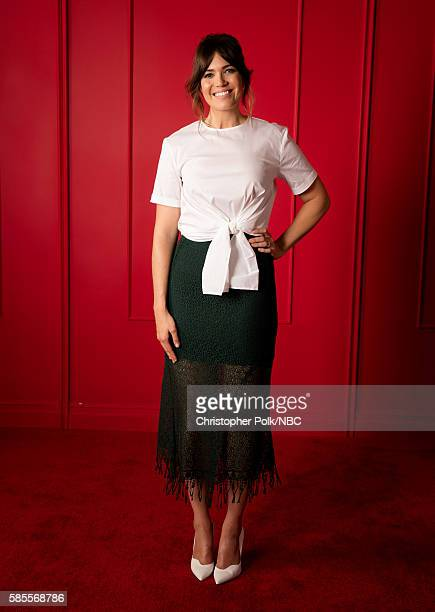 EVENTS NBCUniversal Press Tour Portraits AUGUST 02 2016 Actress Mandy Moore of 'This Is Us' poses for a portrait in the the NBCUniversal Press Tour...