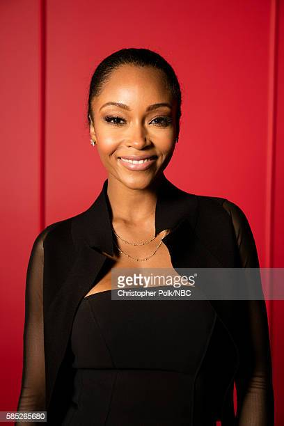 EVENTS NBCUniversal Press Tour Portraits AUGUST 02 2016 Actress Yaya Dacosta of Chicago Med poses for a portrait in the the NBCUniversal Press Tour...
