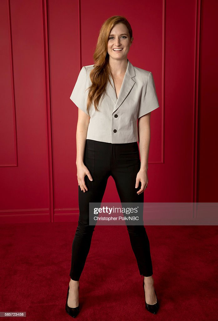 EVENTS -- NBCUniversal Press Tour Portraits, AUGUST 03, 2016: Actress Grace Gummer of 'Mr. Robot' poses for a portrait in the the NBCUniversal Press Tour portrait studio at The Beverly Hilton Hotel on August 3, 2016 in Beverly Hills, California.