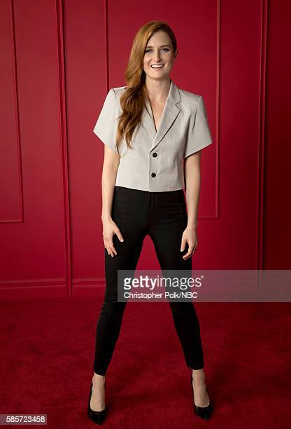 EVENTS NBCUniversal Press Tour Portraits AUGUST 03 2016 Actress Grace Gummer of 'Mr Robot' poses for a portrait in the the NBCUniversal Press Tour...
