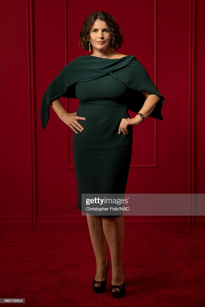 EVENTS -- NBCUniversal Press Tour Portraits, AUGUST 03, 2016: Actress Julia Ormond of 'Incorporated' poses for a portrait in the the NBCUniversal Press Tour portrait studio at The Beverly Hilton Hotel on August 3, 2016 in Beverly Hills, California.