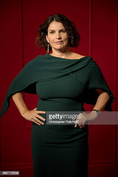 """NBCUniversal Press Tour Portraits, AUGUST 03, 2016: Actress Julia Ormond of """"Incorporated"""" poses for a portrait in the the NBCUniversal Press Tour..."""