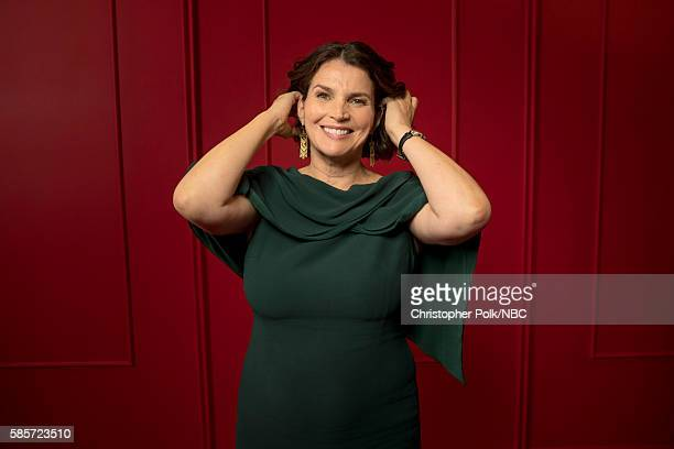 EVENTS NBCUniversal Press Tour Portraits AUGUST 03 2016 Actress Julia Ormond of Incorporated poses for a portrait in the the NBCUniversal Press Tour...