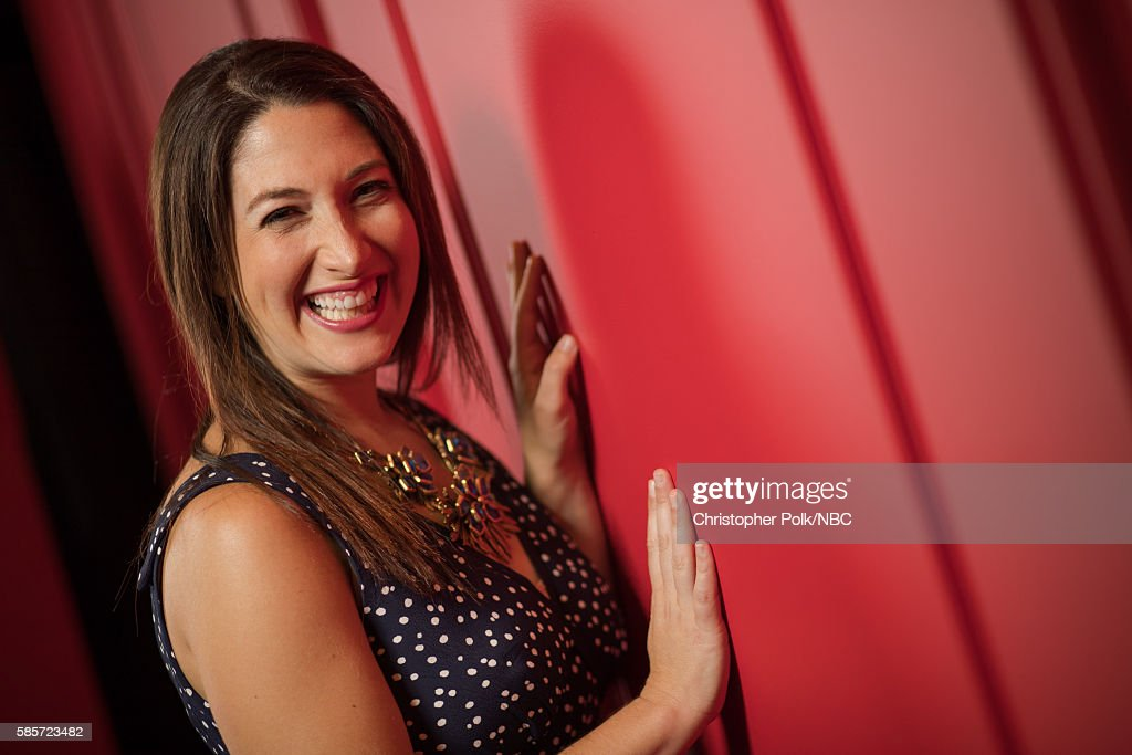 EVENTS -- NBCUniversal Press Tour Portraits, AUGUST 03, 2016: Author Randi Zuckerberg of 'Dot.' poses for a portrait in the the NBCUniversal Press Tour portrait studio at The Beverly Hilton Hotel on August 3, 2016 in Beverly Hills, California.