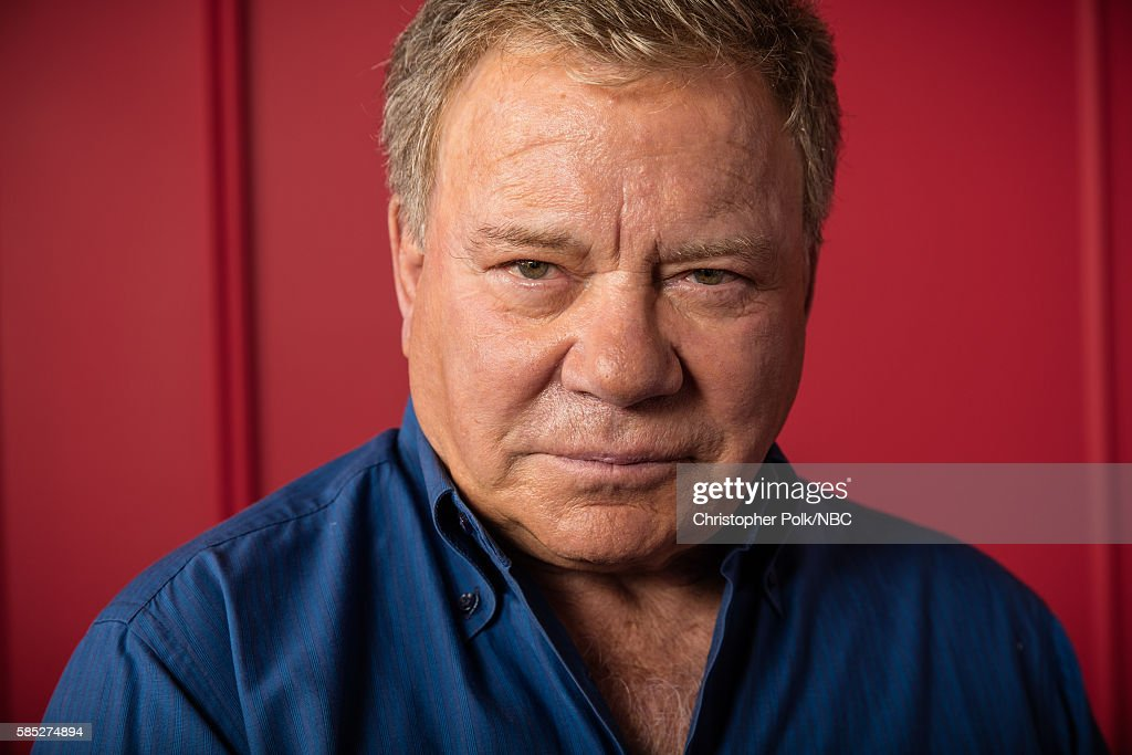EVENTS -- NBCUniversal Press Tour Portraits, August 2016 -- Pictured: William Shatner, 'Better Late Than Never', poses for a portrait in the the NBCUniversal Press Tour portrait studio at The Beverly Hilton Hotel on August 2, 2016 in Beverly Hills, California.