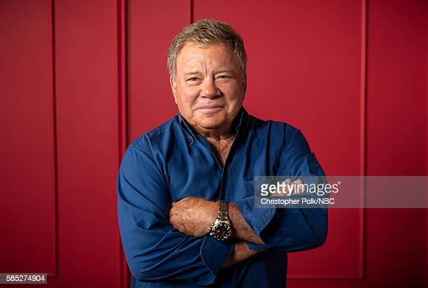 "NBCUniversal Press Tour Portraits, August 2016 -- Pictured: William Shatner, ""Better Late Than Never"", poses for a portrait in the the NBCUniversal..."