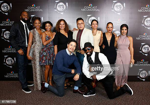 EVENTS NBCUniversal Short Film Festival 2016 Pictured top row David Talbert Tiffany Haddish Bresha Webb Presenters Karen Horne SVP Programming Talent...