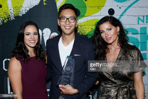EVENTS 'NBCUniversal Short Film Festival 2018' Pictured Melissa Fumero Kevin David Lin 'Monday' Trace Lysette at The DGA in Los Angeles CA on October...